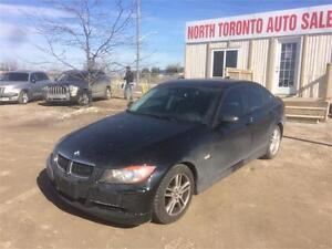 2006 BMW 3 SERIES 323I - LEATHER - SUNROOF - LOW KM - CLEAN