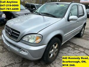 2003 Mercedes-Benz M-Class 5.0L LEATHER SUNROOF RUNS GREAT AS IS