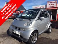 SMART FORTWO 0.7 PASSION SOFTOUCH 2d AUTO 61 BHP FULL SERVICE H (silver) 2005