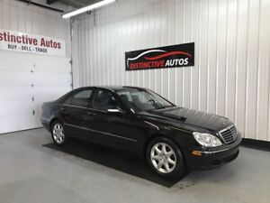 2006 Mercedes-Benz S-Class S430 4MATIC AWD/LEATHER/NAVI/MUST SEE