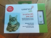 Weenect specific GPS collar for cats