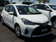 2016 Toyota Yaris NCP130R MY15 Ascent White 4 Speed Automatic Hatchback South Nowra Nowra-Bomaderry Preview