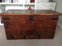 Solid Wood Trunk / Chest / Ottoman