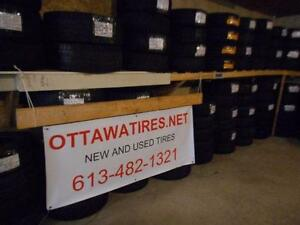 OTTAWA TIRES ,NET NEW AND USED TIRES 613-482-1321