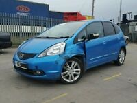 HONDA JAZZ 2010 1.4 PETROL AUTOMATIC BREAKING FOR SPARES / PARTS
