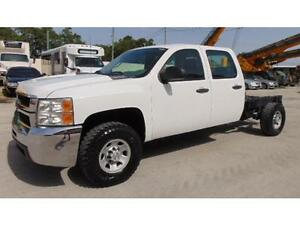 2008 Chevrolet Silverado 2500HD 4X4 166,450 kms. NO BOX GAS AUTO
