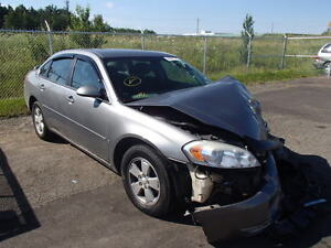 parting out 2006 chev impala