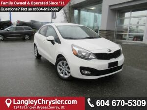 2013 Kia Rio LX <B>*ACCIDENT FREE*AIR CONDITIONING*BLUETOOTH*<b>