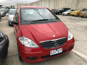 2005 Mercedes-Benz A170 W169 Classic Red 7 Speed CVT Auto Sequential Hatchback Hoppers Crossing Wyndham Area Preview