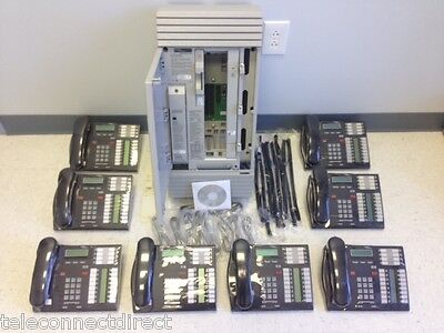 Nortel Norstar Mics 6.1 Business Office Phone System 8 T7316 - Caller Id