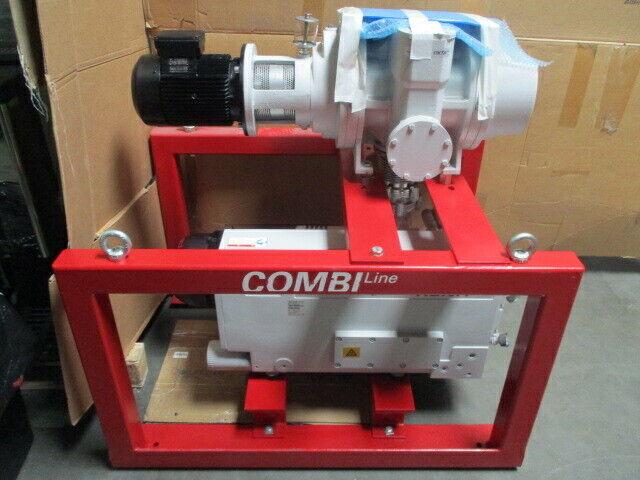 Pfeiffer Vacuum Pump CombiLine WU 942, Hena 300 & Okta 1000 Roots Blower Pump