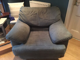 Very large, very comfortable squishy armchair, free to a good home