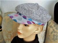 Unisex bakers boy cap