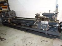 BINNS & BERRY MODEL TB707 DOUBLE GAP BED CENTRE LATHE