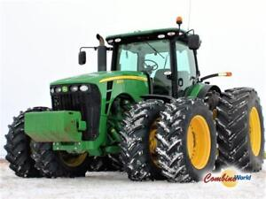 2010 JD 8320R MFWD IVT with 3PH, PTO, ILS, cold weather package
