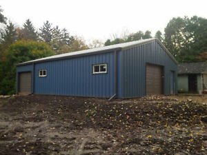 Steel buildings- Annual Clear out Event