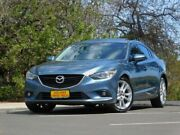 2013 Mazda 6 GJ1031 GT SKYACTIV-Drive Blue 6 Speed Sports Automatic Sedan Enfield Port Adelaide Area Preview