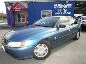 2004 Holden Commodore VY II Equipe Blue 4 Speed Automatic Sedan Welshpool Canning Area Preview