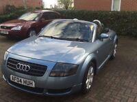 Audi TT 2004 1.8 180bhp remapped 1year mot good runner