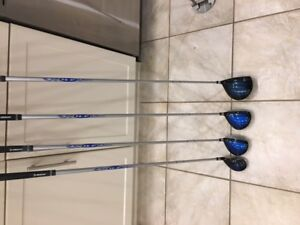 Golf clubs for sale ladies right handed.