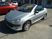 2002 Peugeot 206 T1 CC Silver Manual Cabriolet Wangara Wanneroo Area Preview