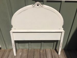 Sweet Refurbished Antique Twin Bed