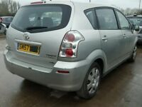 TOYOTA COROLLA VERSO 2.0 D4D 2006 BREAKING FOR SPARES TEL 07814971951 HAVE FEW IN STOCK