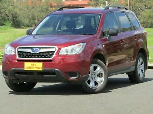 2013 Subaru Forester S4 MY13 2.5i Lineartronic AWD Maroon 6 Speed Constant Variable Wagon Strathalbyn Alexandrina Area Preview