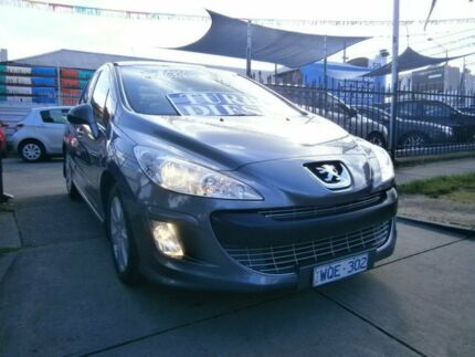 2008 Peugeot 308 XSE HDI Grey 6 Speed Automatic Hatchback Preston Darebin Area Preview