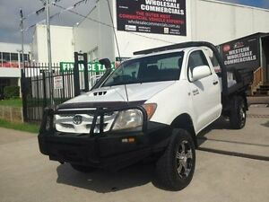2005 Toyota Hilux KZN165R (4x4) White 5 Speed Manual 4x4 Cab Chassis St Marys Penrith Area Preview