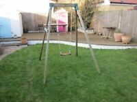 Children's Wooden Swing