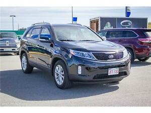 2014 Kia Sorento EX V6! LEATHER! BACK UP CAM! AWD! LOW KMS!