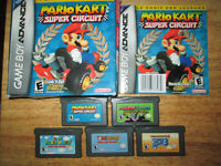 **GREAT NINTENDO MARIO GAMEBOY ADVANCE COLLECTION FROM $25!!!**
