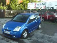 2004 54 CITROEN C2 1.1 SX 3 DOOR IDEAL FIRST CAR VERY CLEAN AND TIDY