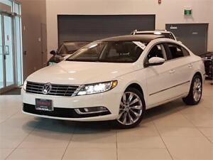 2013 Volkswagen CC HIGHLINE-AUTO-LEATHER-PANO ROOF-LOADED-ONLY 7