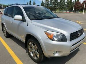 2008 Toyota RAV4 Sport/3.5L Engine 4WD Low Mileage Well Maint'd