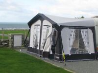 Caravan Awning Size 4, 725-750 Located in SA9 Cwmllynfell