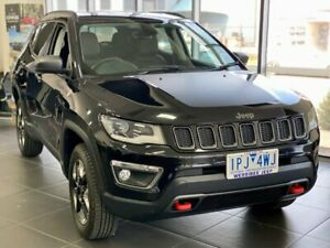 2018 Jeep Compass M6 MY18 Trailhawk Black 9 Speed Automatic Wagon Hoppers Crossing Wyndham Area Preview