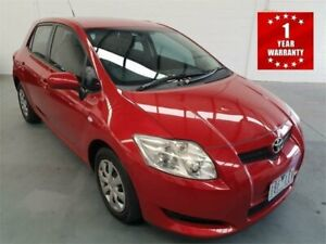 2007 Toyota Corolla ZRE152R Ascent Red Manual Hatchback Mordialloc Kingston Area Preview
