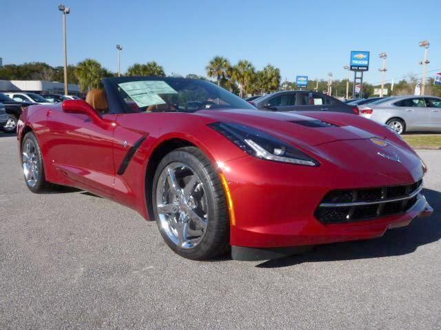 Corvette 2014 red