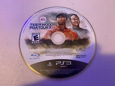 Tiger Woods PGA Tour 14 (Sony PlayStation 3, 2013) PS3 - DISC ONLY