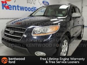 2009 Hyundai Santa Fe Limited AWD, sunroof, heated power leather