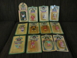12 Vintage Miniture Cabage Patch Kids -new in pack