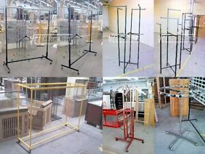 PRESENTOIR DE VETEMENT - TOUTES SORTES ~ CLOTHING / GARMENT RACKS - ALL TYPES