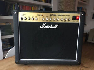 "Marshall JCM 2000 DSL 401 1x12"" Tube Combo Amplifier"
