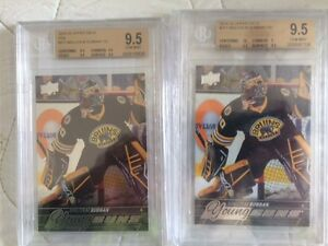 Graded NHL hockey cards rookies West Island Greater Montréal image 1