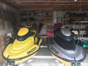 I have two 1998 Seadoo XP 800 for sale with double trailer