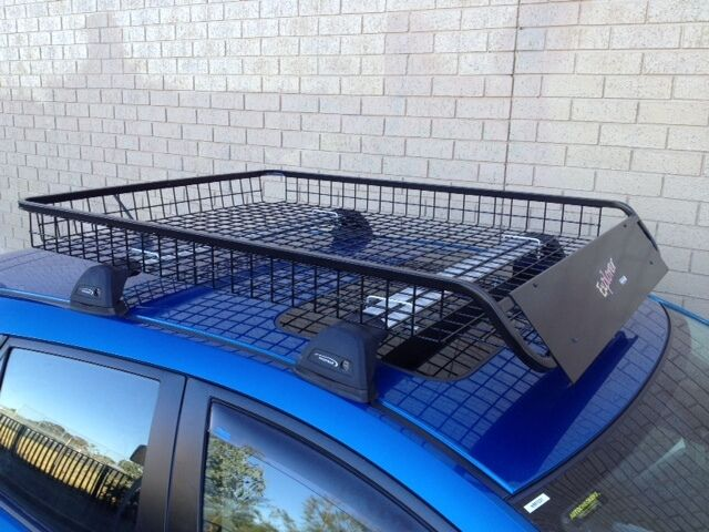 4wd Steel Roof Rack Mesh Basket Luggage Tray Other