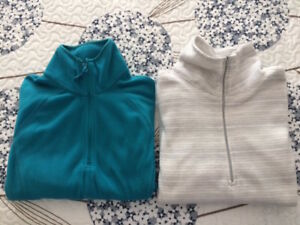 Girls' Size L Zippered Fleece - BOTH for $10 & MORE!