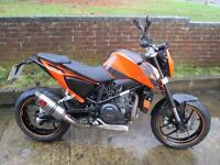 KTM 690 DUKE MOTORCYCLE